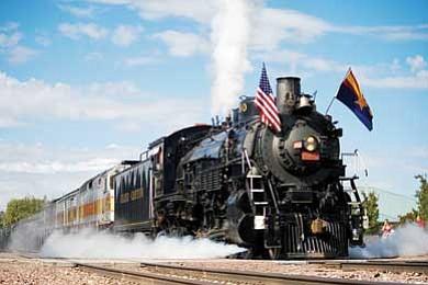 Photo/Grand Canyon Railway<br> The Cataract Creek Rambler will hit the rails Sept. 18.