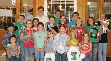 Williams 4-H Mountaineers include (from top left) Colton Stephens, Tyler Hamby, Ethan Reinarz, Harrison Hamby, Taylor Clark, Kacy Stephens, Chisolm Wells, Emily McCann, Bailee Cameron, Nolwenn Bowen, Tiffany Clark, Tate and Abbey Wells, Katherine Westlake, Abbey McCann, Hattie McCann, Cole Cameron, Rebecca Westlake and Ellie Cameron. Not pictured are Destinee and Frenchesca Pennington.