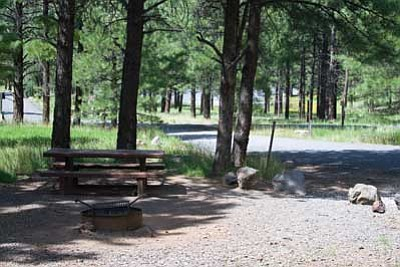 Photo/U.S. Forest Service, Southwestern Region, Kaibab National Forest<br> Kaibab Lake Campground on the Williams Ranger District of the Kaibab National Forest is scheduled to undergo major improvements over the next several months.