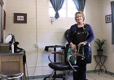 Clara Beard/WGCN<br>  Lyndie Marruto of Lyndie's Salon is hosting a cut-a-thon on Feb. 13. Proceeds will benefit Meant to Rescue.