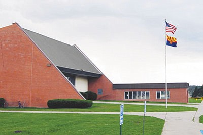 Photo/WGCN<br> The Williams Unified School District will seek public comment before moving forward with a wind turbine curriculum at Williams Elementary-Middle School.