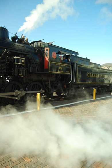 Photo/WGCN <br> See steam trains, classic cars, and airplanes at National Train Day, to be held May 7-8.