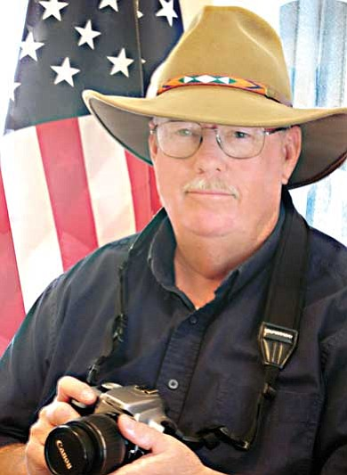 """Submitted photo<br> Robert """"Train Bob"""" Robinson is currently showing his photographic work at the Singing Pig BBQ located at 437 W. Route 66."""