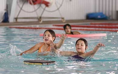 Ryan Williams/WGCN<br> Swimmers of all ages are invited to swim free Saturday when the Williams Aquatic Center reopens for the summer.