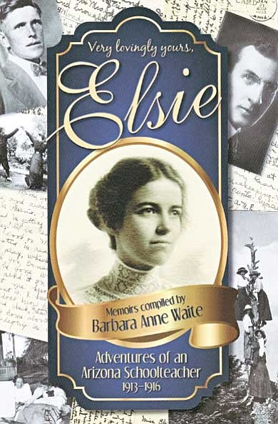 """Very lovingly yours, Elsie"" is available at the Williams Public Library and for sale at amazon.com."