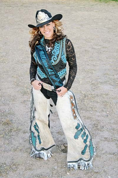 Submitted photo<br> Williams 2012 Rodeo Queen Andreya Jo Apolinar.
