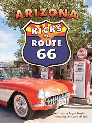 Submitted photo<br> Arizona Kicks on Route 66 book cover.