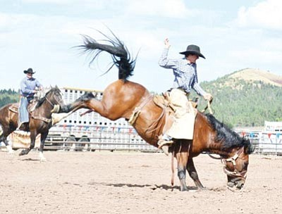 Expect an abundance of action during the Labor Day Rodeo Sept. 1-2 at the Williams Rodeo Grounds. Photo/Robin McArthur