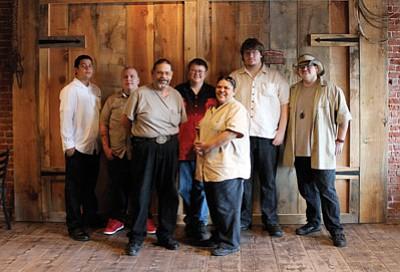 Saddlebag Sandwich Shop employees from left: Joe Minor, Derrick Cook, Tony Brambila, Roy Rock, Liz Minor, John Herrin and A.J. Minor. Marissa Freireich/WGCN