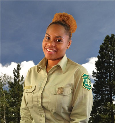 "Danelle ""D.D."" Harrison is the new Williams district ranger. Submitted photo"