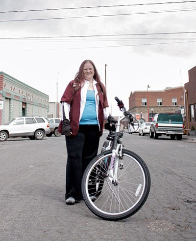 Cheri Porter plans to ride 30 miles in the Ride the Vortex event May 18 to support Multiple Sclerosis research. Marissa Freireich/WGCN