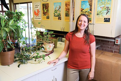 The Arizona Rural Schools Association recently named Williams High School science teacher Jessica Heisley the 2014 Coconino County Rural Teacher of the Year. Ryan Williams/WGCN