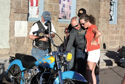 HOG owners check out motorcycles at a past HOG Rally. The Arizona HOG Chapter voted to move the event to Yuma in 2015. Clara Beard/WGCN