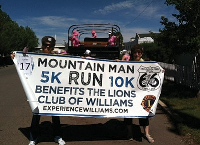 The Mountain Man Run will take place on Labor Day. Submitted photo