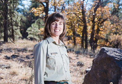 As new Forest Supervisor of Kaibab National Forest, Heather Provencio hopes to diversify and expand her experiences. Ryan Williams/WGCN
