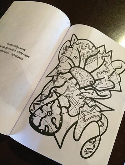 Ash Fork woman finds niche creating coloring books | Williams-Grand ...