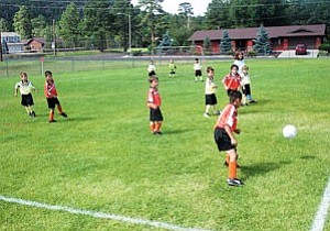 Williams AYSO soccer teams will be wrapping up their season with double headers in Flagstaff Saturday.