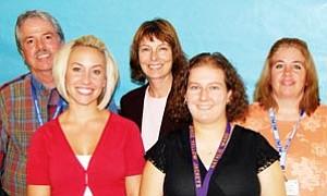 New WUSD teachers, pictured from left to right, include Robert Farrell, Sara Senters, Erin Fink, Natalie Ward and Karen Macks.