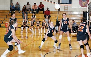 The Lady Vikes put together a strong group effort in their Sept. 14 game against grand Canyon.