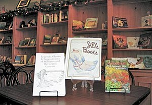 Authors will be in abundance Dec. 8 when they converge on the Java Cycle coffee shop in Williams for a Christmas book-signing event.