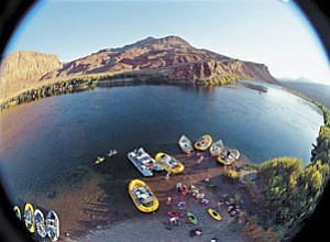 "Crews film ""Grand Canyon Adventure: River at Risk 3D."" A special Williams version of the film is planned for Williams should developers find a suitable site location."