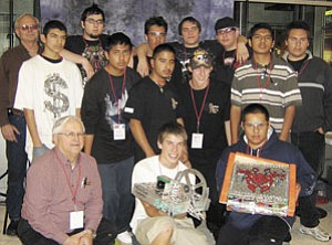 The Williams High School BattleBots team, under the tutelage of teacher Larry Gutshall, placed sixth and 16th respectively in the recent national competition.