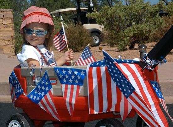 <br><i>Photo by R. Haddad</i> <br>The popular Fourth of July parade will kick off at 6 p.m.