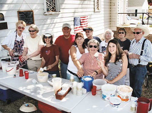 <br>Scott Warren/Williams Color Lab<br> A Fourth of July ice cream social is planned in Williams.