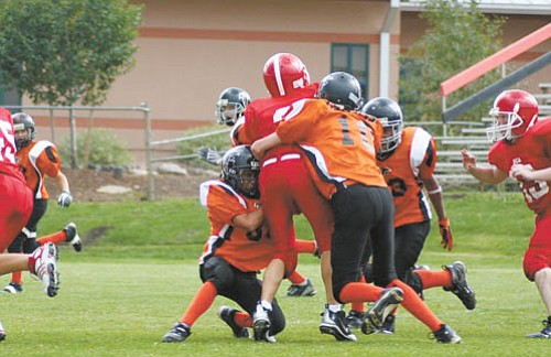 <br>Photo by Shawna Brownlee<br> The Williams Elementary-Middle School Falcons have gone undefeated for the 2008 season as of Sept. 9.