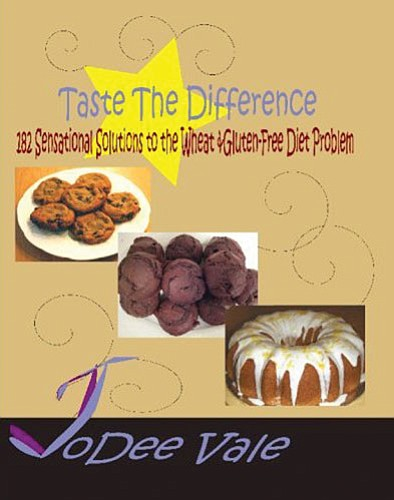 <br>Image courtesy the author<br> The cover of JoDee Vale's new cookbook, 'Taste the Difference.'