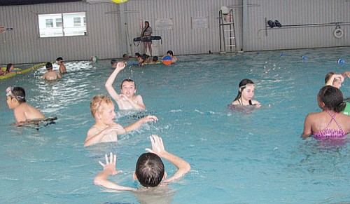 Lynda Duffy/WGCN Swimming is only one of many activities offered to youth during the city of Williams' Summer Spash Rec Program organized by the Williams Parks and Recreation Department.