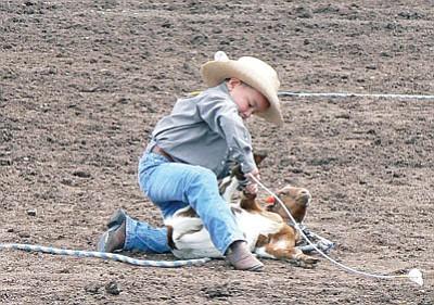 Photos Ajra Rodeo Action Williams Grand Canyon News