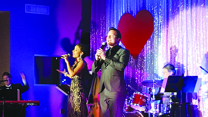 "The Elks Theatre and Performing Arts Center celebrates its 111th anniversary at 7 p.m. Friday, Feb. 19, with ""My Funny Valentine,"" a salute to the Richard Rodgers Songbook, featuring Robert Shaw and Crystal Stark."