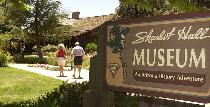 Sharlot Hall Museum is located in downtown Prescott, two blocks west of the courthouse plaza. (Courier file)