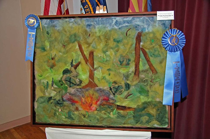 """Casey Hargis, VA photographer<br>First-place ribbon winner, """"The Day the Point Blew Up."""""""