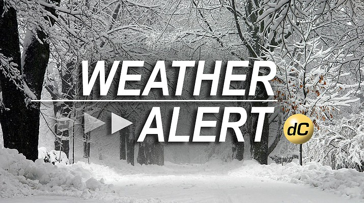4 to 9 inches of snow forecast for greater Prescott area
