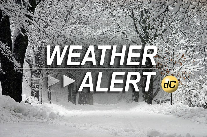 4 to 6 inches of snow forecast for greater Prescott area