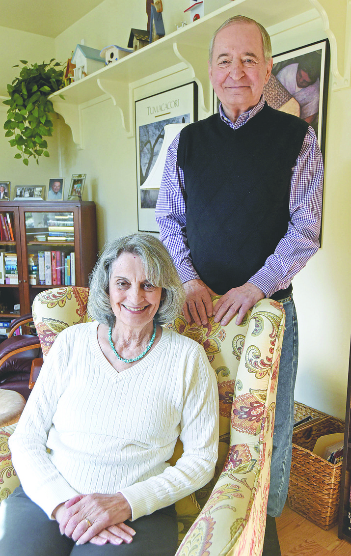 Barbara and Bob Mariano were behind the creation of the county's only in-patient hospice unit. The couple has relocated to be nearer their children.