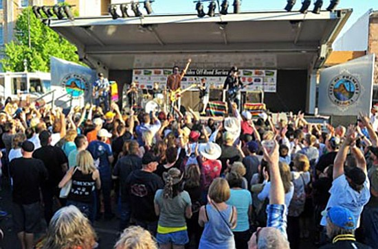 Roger Clyne and the Peacemakers entertain at the 2013 Whiskey Off Road. (File photo)
