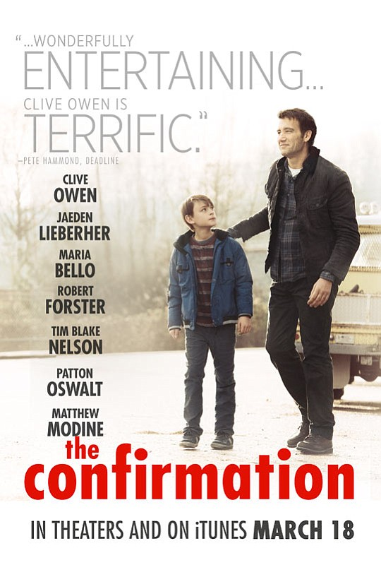 Clive Owen shines in this irresistible comedy about an estranged father and son, whose weekend adventure leads to something they never imagined: a true family connection. The film will be screened at the Sedona Film Festival on Wednesday, March 16.