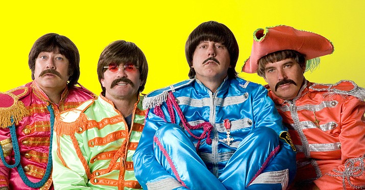Paperback Writer, a tribute to the Beatles, will perform at the Elks Theatre and Performing Arts Center, 117 E. Gurley St., on Saturday, March 12.