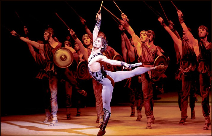 """Bolshoi Ballet – """"Spartacus"""" via live satellite broadcast Tuesday, March 15 at Yavapai College Building 9, Room 147, 1100 E. Sheldon St. Tickets range from $9 to $15 and are available online at www. ycpac.com"""