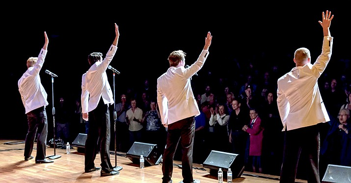 "The ""December '63"" tribute to Frankie Valli and The Four Seasons will be at the Elks Theatre and Performing Arts Center on Friday, March 11 at 7 p.m."