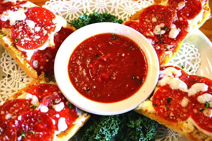 Pepperoni Pizza Bread from Genovese's Italian Restaurant