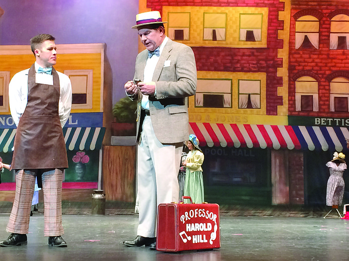 """The Yavapai College Music Dept. will present """"The Music Man"""" at the Yavapai College Performing Arts Center Friday, March 18 through Sunday, March 20."""