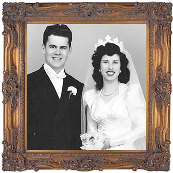 Ken and Ann Thomas on their wedding day in 1948. After more than 60 years of marriage, Ken and Ann have figured out the secrets to a lasting love affair.