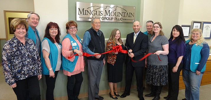 The Prescott Valley Chamber of Commerce was happy to welcome Mingus Mountain Law Group PLLC as a new member with a ribbon cutting.