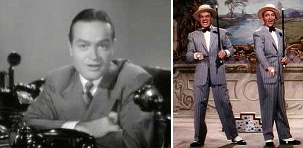 Left Photo: Bob Hope in the 1940 film, The Ghost Breakers.