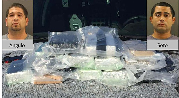 Deputies seized what appeared to be 30 pounds of cocaine in the Oct. 2015 bust, but it included 14 pounds of fentanyl.