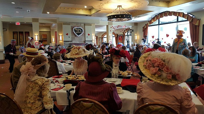 Alta Vista Senior Living recently hosted the Queen of Hearts Tea, a benefit for Prescott Meals on Wheels.
